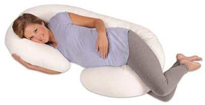 Leachco Snoogle Total Body Pillow, Ivory